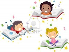 10192145-illustration-of-kids-lying-on-books