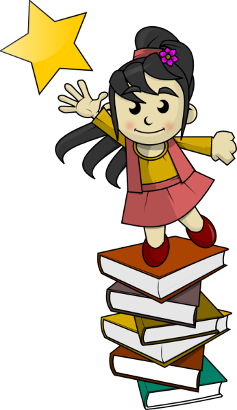 nina_sobre_libros